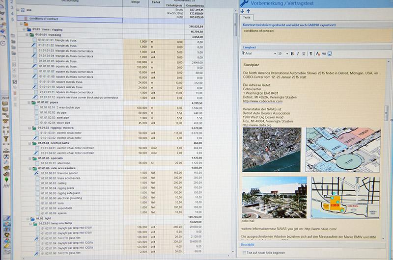 technische Planung nach HOAI